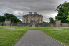 城堡portumna 库存图片