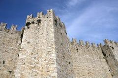 城堡prato 库存图片