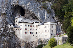 城堡predjama斯洛文尼亚 库存图片