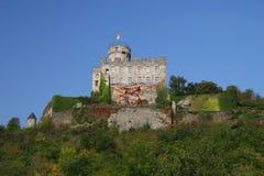 城堡pyrmont 免版税库存照片