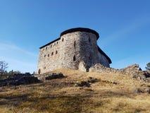 城堡raasepori废墟  免版税图库摄影