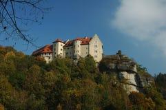 城堡rabenstein 库存照片