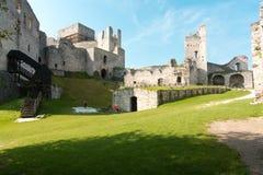 城堡Rabi 免版税库存照片