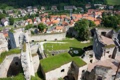 城堡Rabi 库存图片