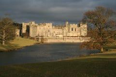 城堡raby的达翰姆 库存图片
