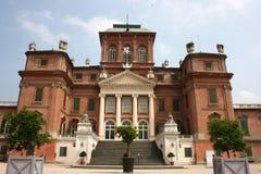 城堡racconigi 免版税图库摄影