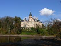 城堡radu radun 库存照片