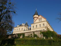 城堡radu radun 图库摄影