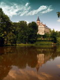 城堡radun 免版税图库摄影