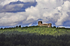 城堡radyne 免版税图库摄影