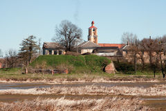 城堡radziwill 免版税库存照片