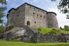 城堡Raseborg 免版税库存图片
