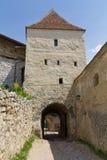 城堡rasnov v 图库摄影