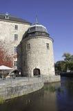 城堡rebro 免版税库存图片