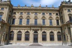 城堡residenz wà ¼ rzburg 免版税库存图片