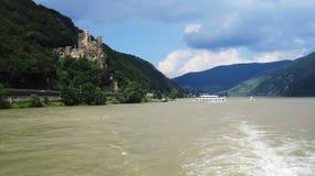 城堡Rheinstein 库存照片