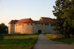 城堡ribnik 库存照片