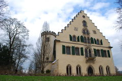 城堡rosenau 免版税库存照片
