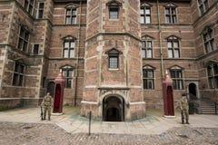 城堡rosenborg 库存照片