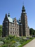 城堡rosenborg 免版税库存图片