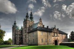 城堡rosenborg 免版税库存照片