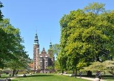 城堡rosenborg 免版税图库摄影