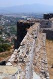 城堡rozafa 库存照片