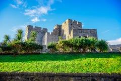 城堡Rushen在曼岛 库存图片