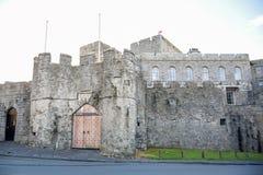 城堡Rushen在Castletown在曼岛 库存照片