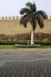 城堡s墙壁 免版税库存照片