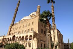 城堡Saladin El开罗埃及 免版税图库摄影