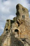 城堡scarborough 免版税库存照片