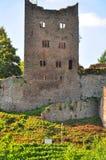 城堡schauenburg 库存照片