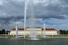 城堡Schleissheim,慕尼黑 免版税库存图片