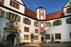 城堡schmalkalden 免版税库存照片