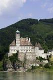 城堡schoenbuehel 库存图片