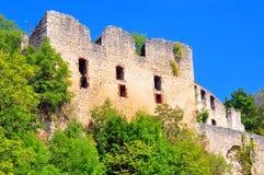 城堡schuelzburg 库存图片