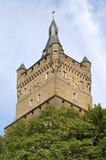 城堡Schwanenburg,克莱费,德国静物画  图库摄影