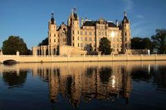 城堡schwerin 库存图片