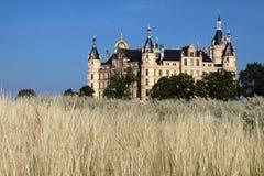 城堡schwerin 库存照片