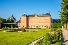 城堡Schwetzingen 免版税图库摄影
