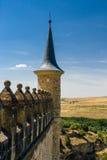 城堡segovia西班牙 图库摄影