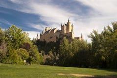 城堡Segovia (西班牙) 库存照片