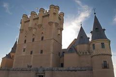 城堡Segovia (西班牙) 免版税库存照片