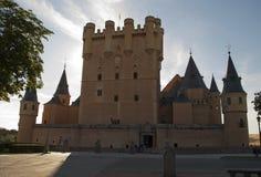 城堡Segovia (西班牙) 免版税库存图片