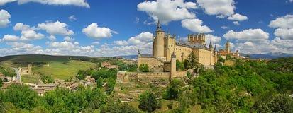 城堡segovia 免版税库存照片