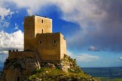 城堡serravalle 图库摄影
