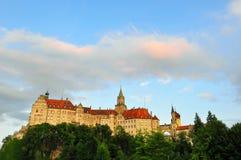 城堡sigmaringen 库存照片