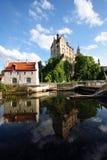城堡sigmaringen 图库摄影