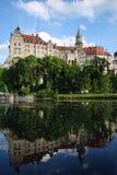 城堡sigmaringen 免版税库存照片